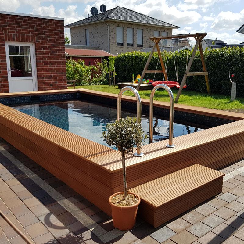 Gartenpool Bremen - Poolbau