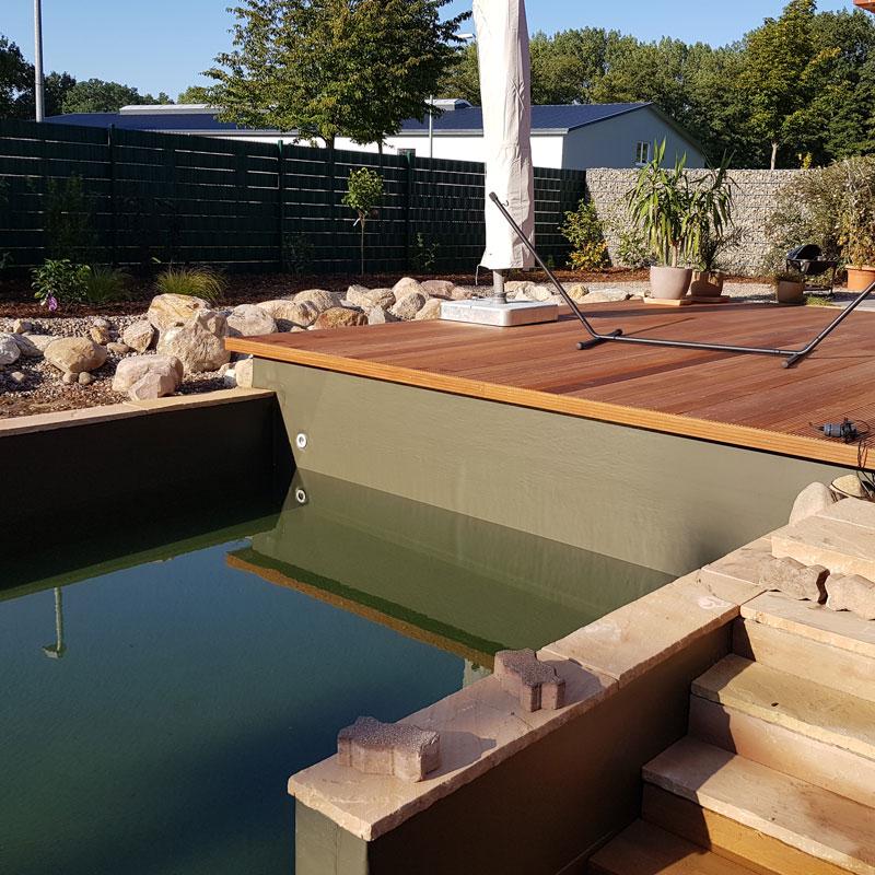 Poolbau für den Garten in Bremen
